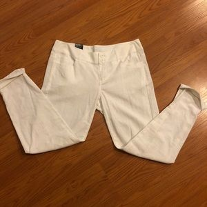 NWT white linen pants